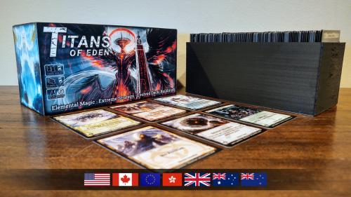 Titans Of Eden: A Fast-Paced Deck-Building Card Game