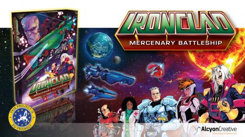 Ironclad: Story driven space opera cooperative board game