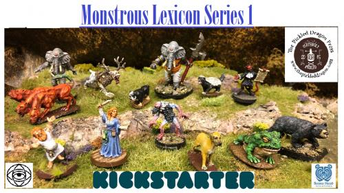 Bears Head Minis & The Pickled Dragon - Monstrous Lexicon 1