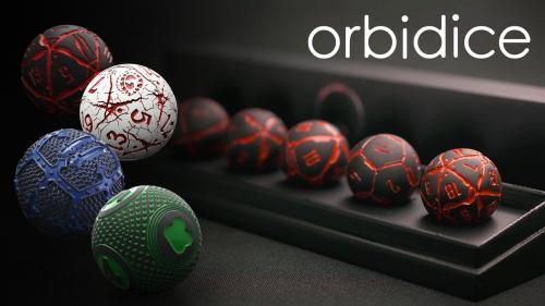 Orbidice - The First Spherical RPG Full Dice Set