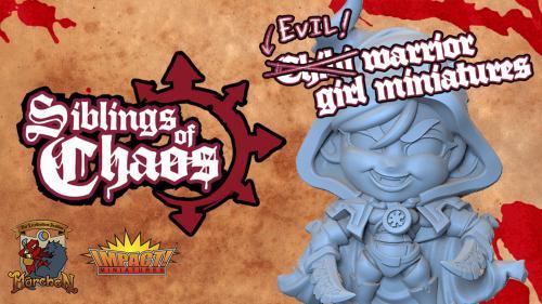 Chibi Siblings of Chaos Miniatures