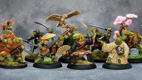 The Boxer Rebellion, Nine Kung-fu style Turtle Adventurers!