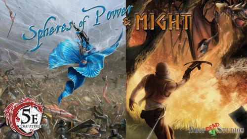 Spheres of Might and Power; 5th edition D&D Supplements