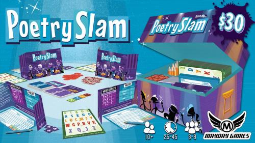 Poetry Slam: A Beatnik 3-8 Player Party Game