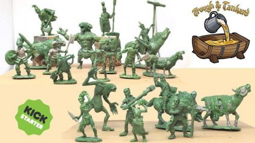 March of the Dead. 28mm Fantasy Undead Miniatures