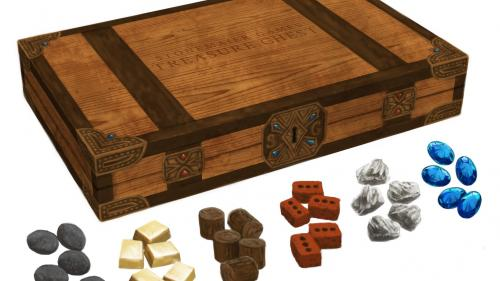 Treasure Chest: Realistic Resource Tokens for Board Games