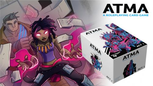 Atma: A Roleplaying Card Game