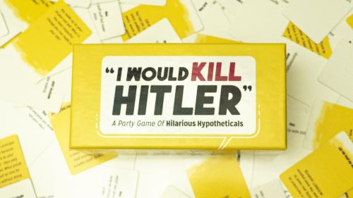 """I Would Kill Hitler"" - The Party Card Game"