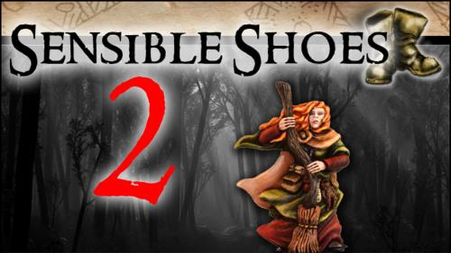 Sensible Shoes 2 - female 28mm gaming miniatures