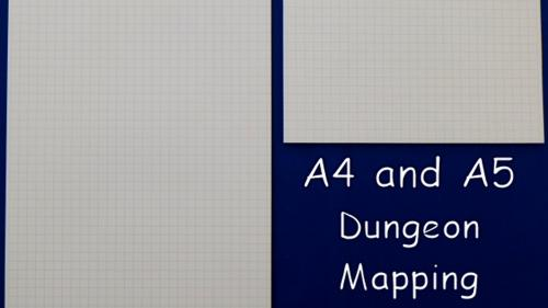 A4 & A5 Dungeon Mapping Pads