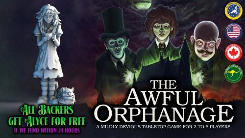The Awful Orphanage - A mildly evil game for 2 to 6 players