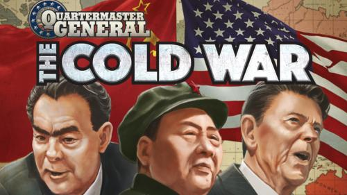 Ian Brody s Quartermaster General: The Cold War board game