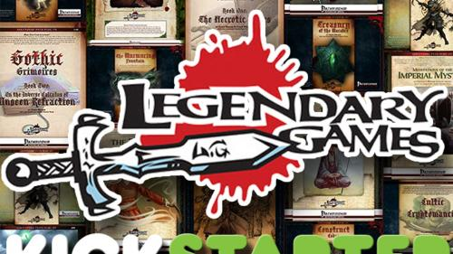 Legendary Games Pathfinder Books in Print
