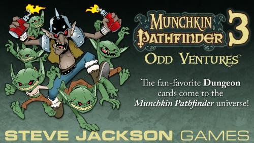 Munchkin Pathfinder 3 - Odd Ventures