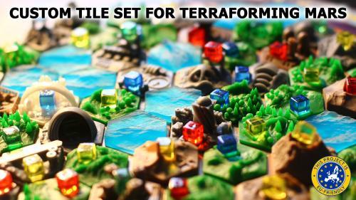 Custom Tile Set for Terraforming Mars
