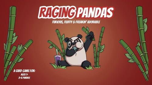RAGING PANDAS: A Panda Approved Card Game