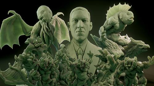Cthulhu: Lovecraftian Bestiary - 3D Printable Models