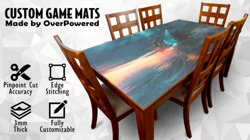 Custom Game Mats- Any Shape, Size, and Image