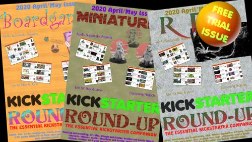 Kickstarter Round-up, the essential companion to Kickstarter