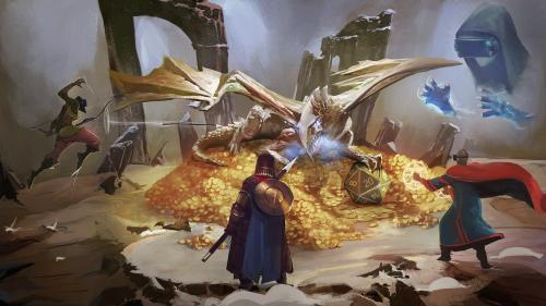 Legends Untold: Tabletop Roleplaying Reimagined in VR/PC