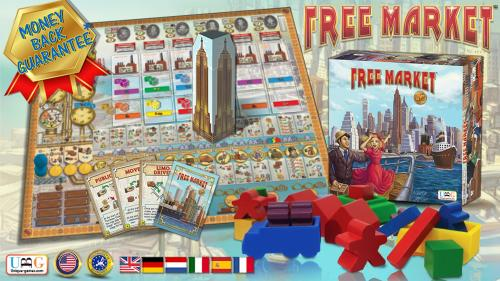 FREE MARKET - New Board Game