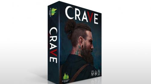 CRAVE. A strategic deck building card game for 2+ players.