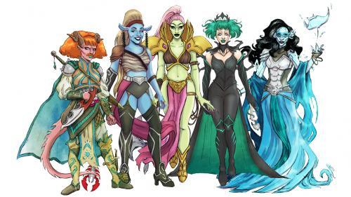Queens of Adventure's Legendary Journey