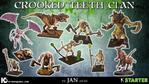Crooked Teeth Clan - Fomorian miniatures