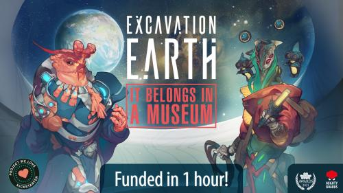 Excavation Earth: It Belongs in a Museum!