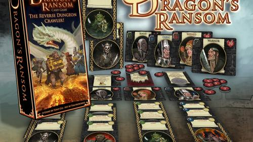 Dragon s Ransom - A Reverse Dungeon Crawl Solo/Co-op Game