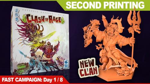 Clash of Rage, 2nd printing