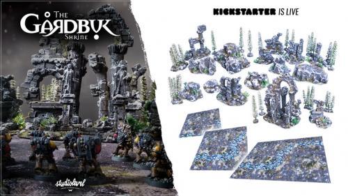 The GÅRDBÛK Shrine: Wargames Winter Complete Terrain Sets