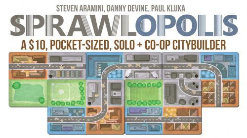 Sprawlopolis - A Solo & Cooperative City Building Game