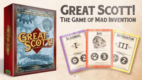 Great Scott! - The Game of Mad Invention