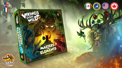 Vikings Gone Wild - Masters of Elements Expansion (+Reprint)