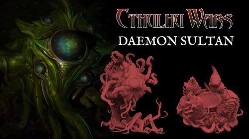 Cthulhu Wars: the Daemon Sultan