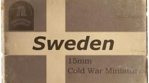 15mm Swedish Cold War Forces