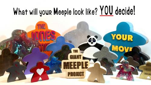 The Giant Meeple Project - Make/100