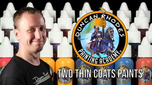 Duncan Rhodes Painting Academy: Two Thin Coats Paints