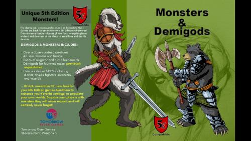 Monsters & Demigods (5E Compatible D&D)