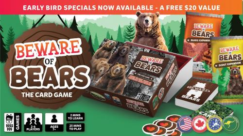 Beware of Bears: A Card Game for the Bold & Brave