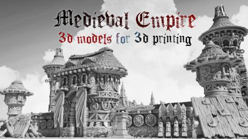 Medieval Empire - modular architecture and decorations