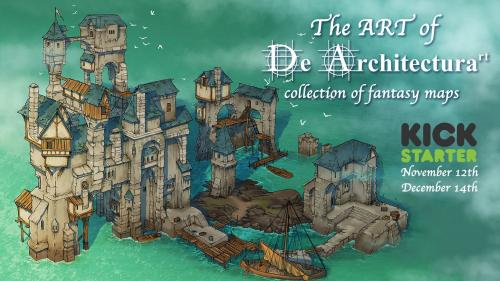 The ART of De Architecturart: collection of fantasy maps