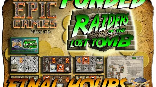 """Raiders of the Lost Tomb """"The Pay What You Want"""" Micro Game"""