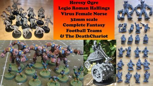 Fantasy Football Ogres, Halflings and female Norse teams