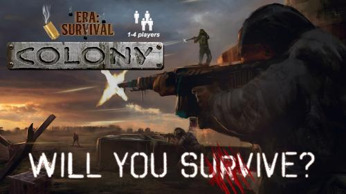 Era: Survival Colony - A co-op card game for 1-4 players