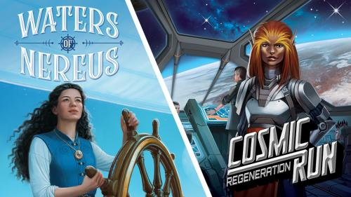Waters of Nereus / Cosmic Run: Regeneration