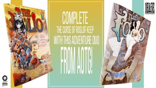 The Folio #24 & #25 Double Edition Adventure Set