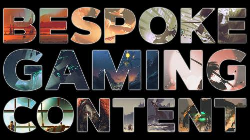 Bespoke Roleplaying Game Content - A Make 100 Project