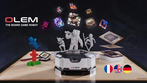 OLEM, the boardgame robot by LudoTech